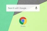 Пользователям Chrome чтобы Android стала доступна поисковая линия торчмя сверху домашнем экране